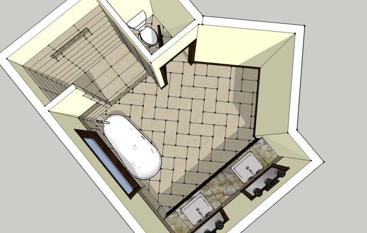 Googled sketchup, interior design, design tools, flooring, tile, backsplash, bathroom