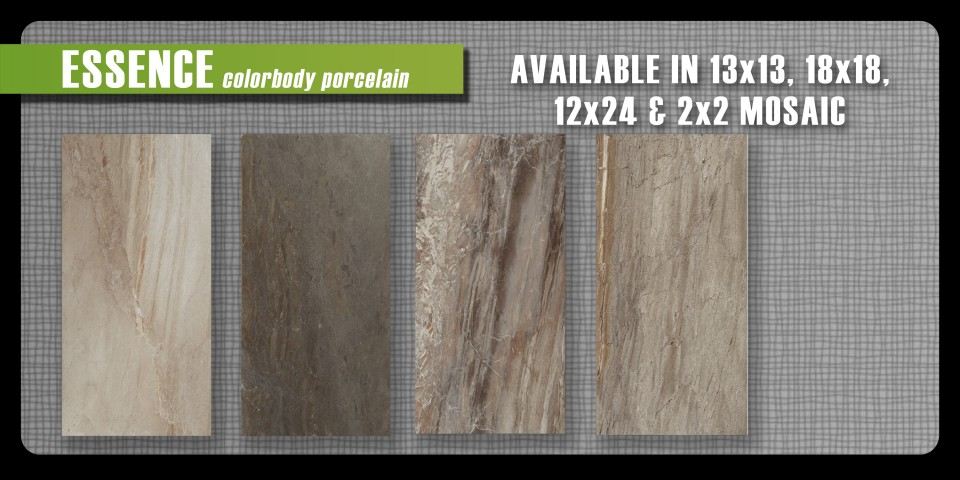 porcelain Tile new arrival Cronin company color body porcelain looks like stone