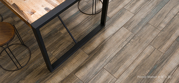 Bedrosians Forest Wood Plank Tile