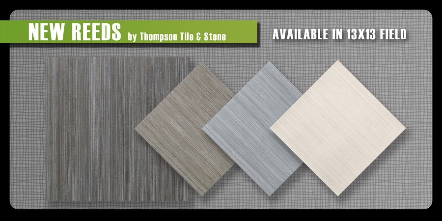 New Reed ceramic tile linear design thompson tile and stone Olympia tile