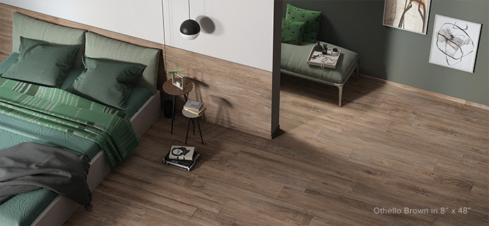 Othello Bedrosians Wood Plank Tile