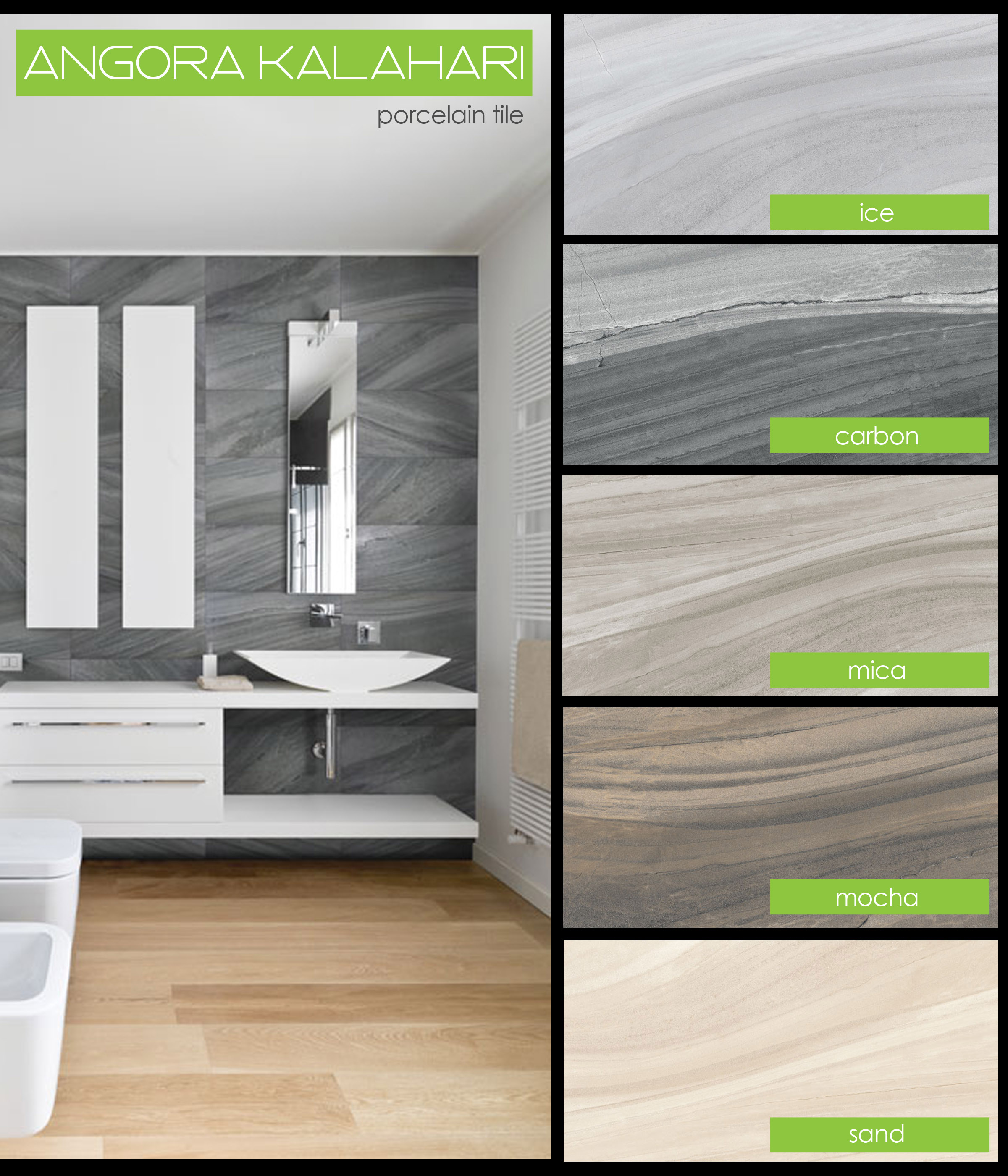 New arrivals for tile stone hardwood vinyl laminate carpet and tierra sol angora kalahari veining texture porcelain tile ice carbon mica mocha sand 12x24 bathroom contemporary dailygadgetfo Image collections