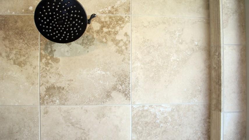 Ceramic vs porcelain tile for shower wall