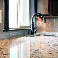 Kitchen backsplash tile in 3x6 subway tile