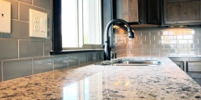 Kitchen backsplash tile in 3x6 subway tile