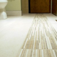 Breather Deco 12x24 on Bathroom Floor